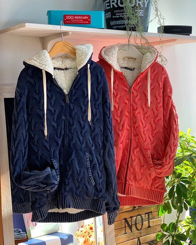 ・・ジャガードニットシリーズ・・コットン100%素材のヴィンテージ加工されたラグジュアリー感溢れる人気シリーズです♬・・アウターとインナー同色で揃えてもお洒落です・・こちらの商品も30%OFF SALE対象商品です♬・・・#群馬#筑縄町#高崎#wardrobe#ワードローブ#fashion #ファッション #coordinate #コーディネート#jewelry #ジュエリー#apparel#アパレル#import#インポート#mens#メンズ#ladies#レディース#kids#キッズ#アイシングクッキー #gift #interior #インテリア#雑貨#セレクト#セレクトショップ#トータルセレクトショップ.カリフォルニアテイストのオシャレで素敵なお店です.wardrobe(ワードローブ)〒370-0075群馬県高崎市筑縄町50-2℡027-388-9860平日11:00〜20:00.姉妹店CROCE(クローチェ)@croce_yt7i℡027-370-2511VIGOR(ヴィゴール)@vigor_yt7i℡027-365-2488
